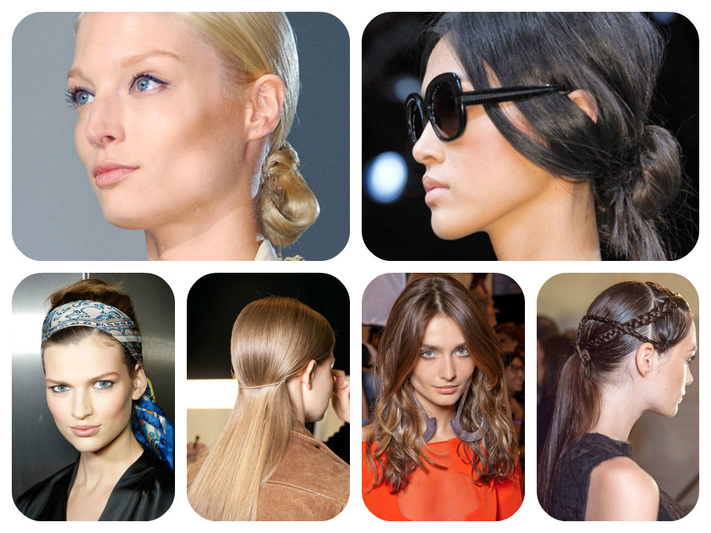 Collage of great hairstyles