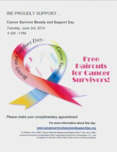 Free Haircuts for Cancer Survivors