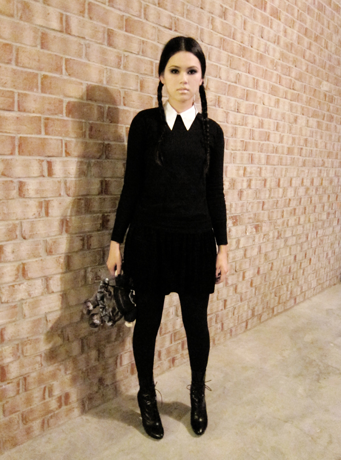 Wednesday Addams  sc 1 st  Xenon Academy & 5 Easy Halloween Costumes Straight From Your Closet | Xenon Academy