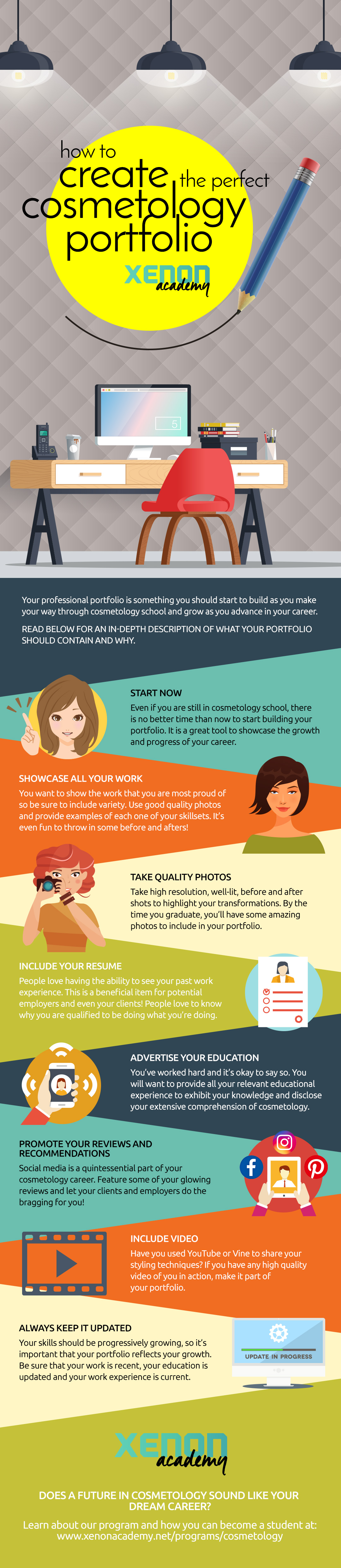 9 Easy Steps to Making a Cosmetology Portfolio
