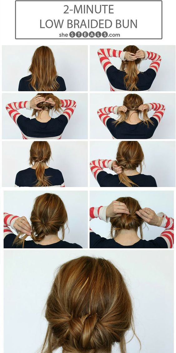 Simple updo tutorial