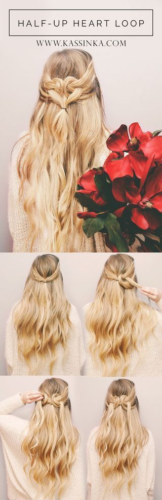Heart Braided Hair