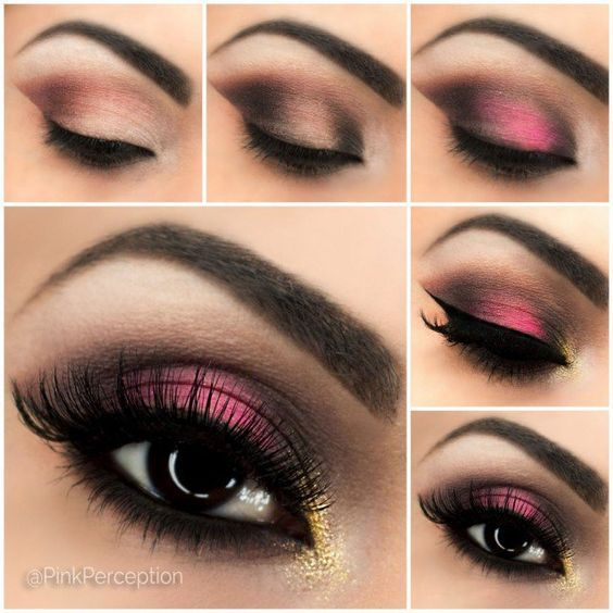 Makeup step by step tutorial
