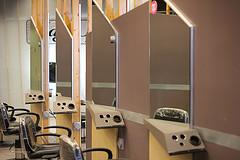 Salon Chairs at Xenon Academy