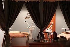 Spa room at Xenon Academy