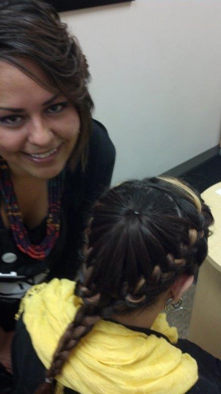 Amanda's Spring Hair