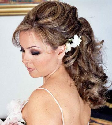 Curly hair for prom hairstyles