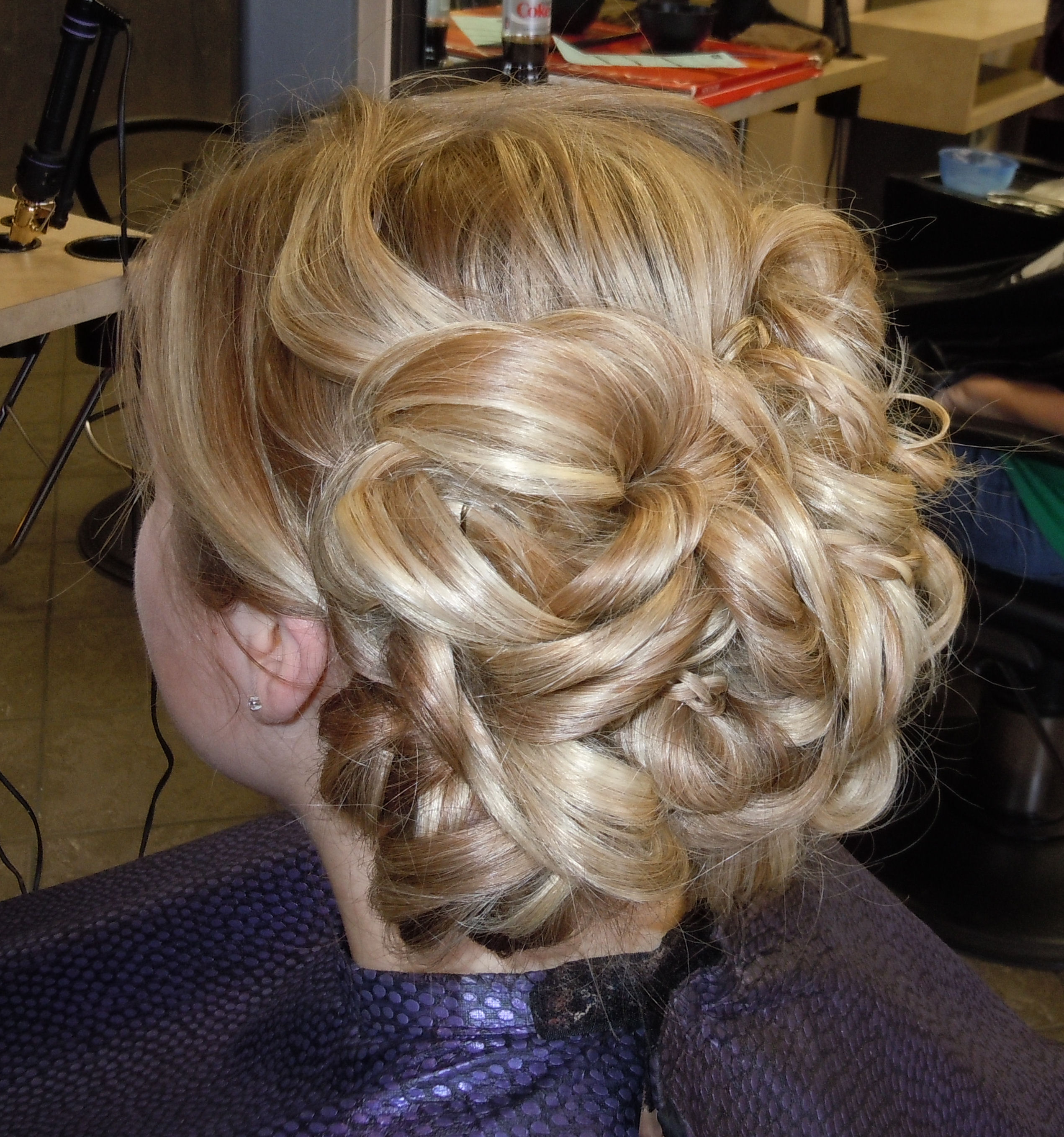 Awesome bun hairstyle