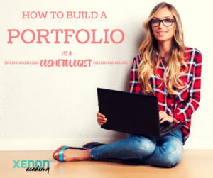 how to build a portfolio as a cosmetologist