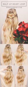 Heart Braided Hair