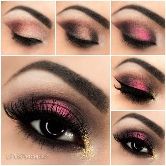 Makeup step by step tutorial