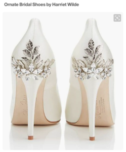 Ornate Bridal Shoes