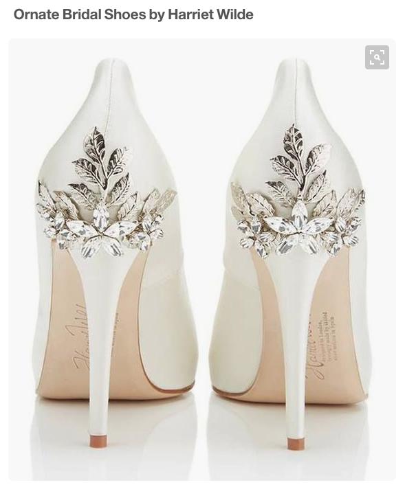 Ornate Bridal Shoes