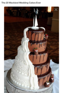 Wacky Wedding Cake